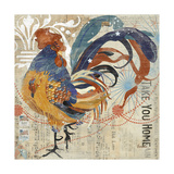 Rooster Flair IV Posters by Evelia Designs