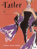 The Tatler - Emberglow Giclee Print by  The Vintage Collection