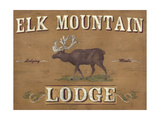 Lodge Sign III Premium Giclee Print by June Erica Vess