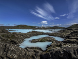 The Exterior Pools of Blue Lagoon, in Iceland Photographic Print by Jay Dickman