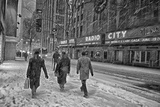 Winter Storm Juno Arrives in New York City Photographic Print by Kike Calvo