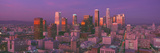 Los Angeles, Skyline, Sunset, California Photographic Print by Panoramic Images