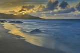 Sandy Shore at Kaehu Point, Mo'Omomi Beach, Nature Conservancy, Molokai, Hawaii Photographic Print by Richard Cooke III