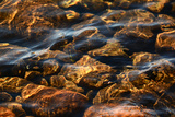 Light Playing on Rocks in Shallow Water, in Jordan Pond Photographic Print by Darlyne Murawski