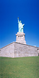 Statue of Liberty and Pedestal, New York Photographic Print by Panoramic Images