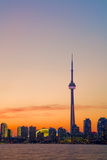 Toronto Skyline at Dusk Photographic Print by Tim Thompson