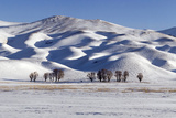 A Snow-Covered Winter Landscape in the Alborz Mountains of Iran Photographic Print by Babak Tafreshi