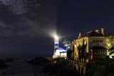 Night View of the Historic Santa Marta Lighthouse and Museum, on the Atlantic Coast Photographic Print by Babak Tafreshi
