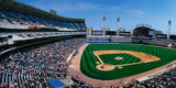 This Is the New Comiskey Park Stadium. Playing are the White Sox Vs the Texas Rangers Photographic Print by Panoramic Images