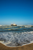 Shipwreck on the Beach, Skeleton Coast, Namibia Photographic Print by Green Light Collection