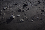 Rocks on Black Sands, Markarfljotsaurar Outwash Plain, Iceland Photographic Print by Green Light Collection