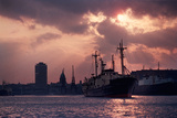 """Vintage Shot of the Guinness Boat """"Lady Gwendolen"""" Pre 1977 Photographic Print by Green Light Collection"""
