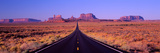 This Is Route 163 That Runs Through the Navajo Indian Reservation Photographic Print by Panoramic Images