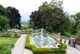 View of the Casa Loma Gardens, Toronto, Ontario, Canada Photographic Print by Green Light Collection
