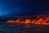 Glowing Lava from the Eruption at the Holuhraun Fissure, Near the Bardarbunga Volcano Photographic Print by Green Light Collection