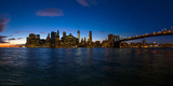 View of Skyline from Brooklyn, Manhattan, New York City, New York State, Usa 2014 Photographic Print by Panoramic Images