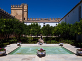Courtyard in the Castle, Alcazar De Los Reyes Cristianos, Cordoba City, Province of Cordoba Photographic Print by Green Light Collection