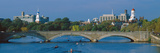 Rowers on Charles River, Harvard and Cambridge in Background,Massachusetts Photographic Print by Panoramic Images