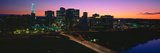 Skyline, Hartford, Sunset, Connecticut Photographic Print by Panoramic Images