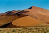Sand Dunes, Sossusvlei, Namib Desert, Namib-Naukluft National Park, Namibia Photographic Print by Green Light Collection