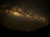 Milky Way, Etosha National Park, Namibia Fotografisk tryk af Green Light Collection