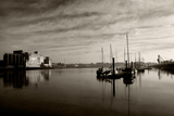 Early Morning River Suir, Waterford City, County Waterford, Ireland Photographic Print by Green Light Collection