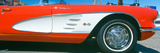 Restored Red 1959 Corvette, Fender Close-Up, Portland, Oregon Photographic Print by Panoramic Images