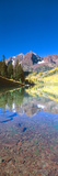 Aspens and Morning Light, Maroon Bells Near Aspen, Colorado Photographic Print by Panoramic Images
