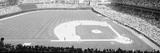 Grayscale: Wrigley Field, Chicago, Cubs V. Rockies, Illinois Fotografisk trykk av Panoramic Images