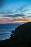 The California Coastline at Sunset Near Malibu Photographic Print by Ben Horton