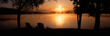 Sun Rising over Lake Placid, New York Photographic Print by Panoramic Images