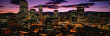 Denver, Colorado Skyline at Dusk Photographic Print by Panoramic Images