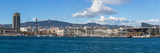 View of the Port of Barcelona, Barcelona, Catalonia, Spain Photographic Print by Panoramic Images