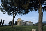 The Temple of Ceres or Athena at Greek City of Paestum Photographic Print by Macduff Everton