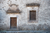 A Door and Window in the Mission San Francisco Javier Photographic Print by Michael Melford