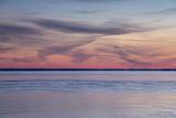 The Sunrise over Lake Mattamuskeet Photographic Print by Robbie George