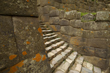 Stairs in Pre-Columbian Inca Ruins Photographic Print by Jim Richardson