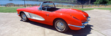 Restored Red 1959 Corvette, Side View, Portland, Oregon Photographic Print by Panoramic Images