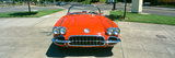 Restored Red 1959 Corvette, Front View, Portland, Oregon Photographic Print by Panoramic Images