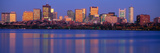 This Is the State Capitol and Skyline Along the Charles River Photographic Print by Panoramic Images