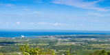 View of Collingwood from the Top of Blue Mountain, Ontario, Canada Photographic Print by Panoramic Images