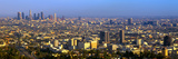 Los Angeles Skyline from Mulholland, California Photographic Print by Panoramic Images