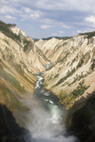 Overlook of the Upper and Lower Falls of Yellowstone Photographic Print by Stacy Gold