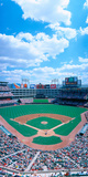 Baseball Stadium, Texas Rangers V. Baltimore Orioles, Dallas, Texas Photographic Print by Panoramic Images