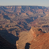 A Stitched Panoramic of the Grand Canyon Photographic Print by Cesare Naldi