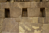 Perfectly Interlocking Stone on Pre-Columbian Inca Walls Photographic Print by Jim Richardson