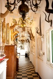 An Antique Showroom Specializing in Chandeliers, Taxidermy, and Nautical Decor Fotoprint av Krista Rossow