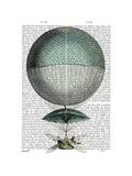 Vaisseau Volant Hot Air Balloon Posters by  Fab Funky