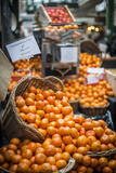 Clementines in Borough Food Market in London Photographic Print by Alex Treadway