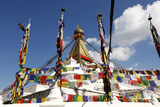 Boudhanath Stupa, the Largest Stupa in Nepal Photographic Print by Jill Schneider